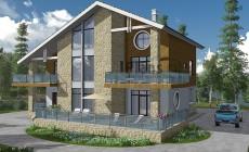 Проект кирпичного дома 41-26