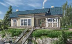 Проект кирпичного дома 41-31