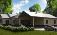 Готовый проект особняка 330 кв.м / ДК-156