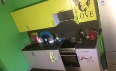 Цвет на кухне.