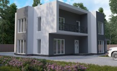 Готовый проект дома 224 кв.м / Артикул АМ-176