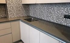 Кухонная столешница из искусственного камня Corian Sienna Brown