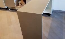 Столешница с барной стойкой из искусственного камня Hi-Macs G117 Cappuccino