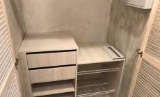 Встроенный шкаф для одежды и обувница от Premier Garden