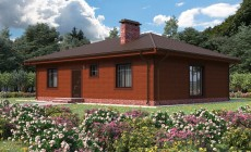 Готовый проект дома 103 кв.м // Артикул СЛ-112