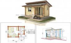 Небольшой дом для первой постройки