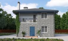 Готовый проект дома 125 кв.м // Артикул ИР-190