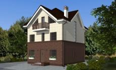 Готовый проект дома 167 кв.м // Артикул СМ-119