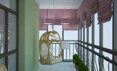 Дизайн балкона, лоджии.