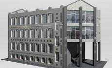 Готовый проект общественного здания 567 кв.м