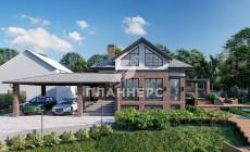 Проект дома Планнерс 123-188-1МПГ