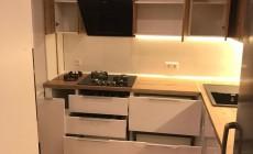 Двухцветный кухонный гарнитур от Premier Garden