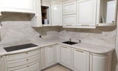 Столешница с кухонным фартуком из искусственного камня Corian Dune Prima