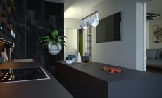 Гостинная+кухня