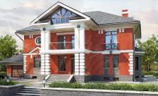 Проект дома 265 кв.м // Артикул ПФФ-220