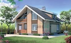 Проект бетонного дома 51-39