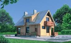 Проект бетонного дома 51-56