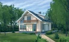 Проект бетонного дома 51-60