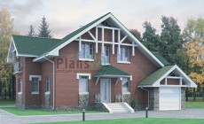 Проект бетонного дома 51-79