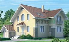 Проект бетонного дома 51-80