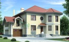 Проект бетонного дома 51-87