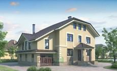Проект бетонного дома 51-89
