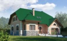 Проект бетонного дома 51-90