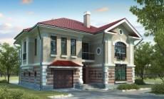 Проект бетонного дома 51-97