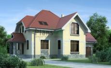 Проект бетонного дома 52-01