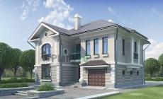 Проект бетонного дома 52-12