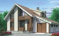 Проект бетонного дома 52-30