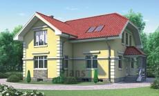 Проект бетонного дома 52-31
