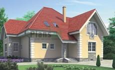 Проект бетонного дома 52-32
