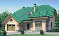 Проект бетонного дома 52-35