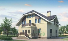 Проект бетонного дома 52-38