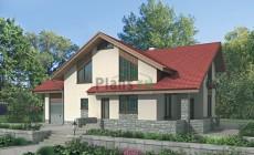 Проект бетонного дома 52-43