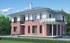Проект бетонного дома 52-45