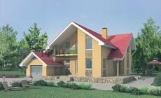 Проект бетонного дома 52-46