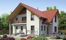 Проект бетонного дома 52-47