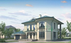 Проект бетонного дома 52-48