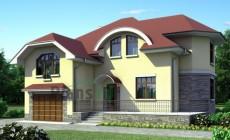 Проект бетонного дома 52-54