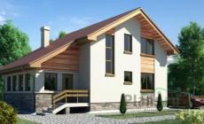 Проект бетонного дома 52-71