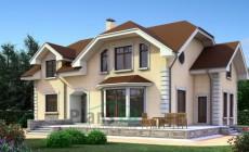 Проект бетонного дома 52-73