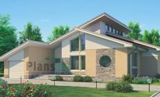 Проект бетонного дома 52-98