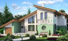Проект бетонного дома 53-03