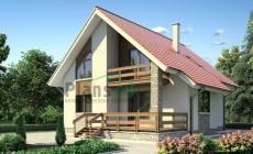 Проект бетонного дома 53-12