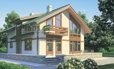 Проект бетонного дома 53-14
