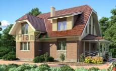 Проект бетонного дома 53-16