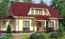 Проект бетонного дома 53-18