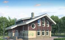 Проект бетонного дома 53-21